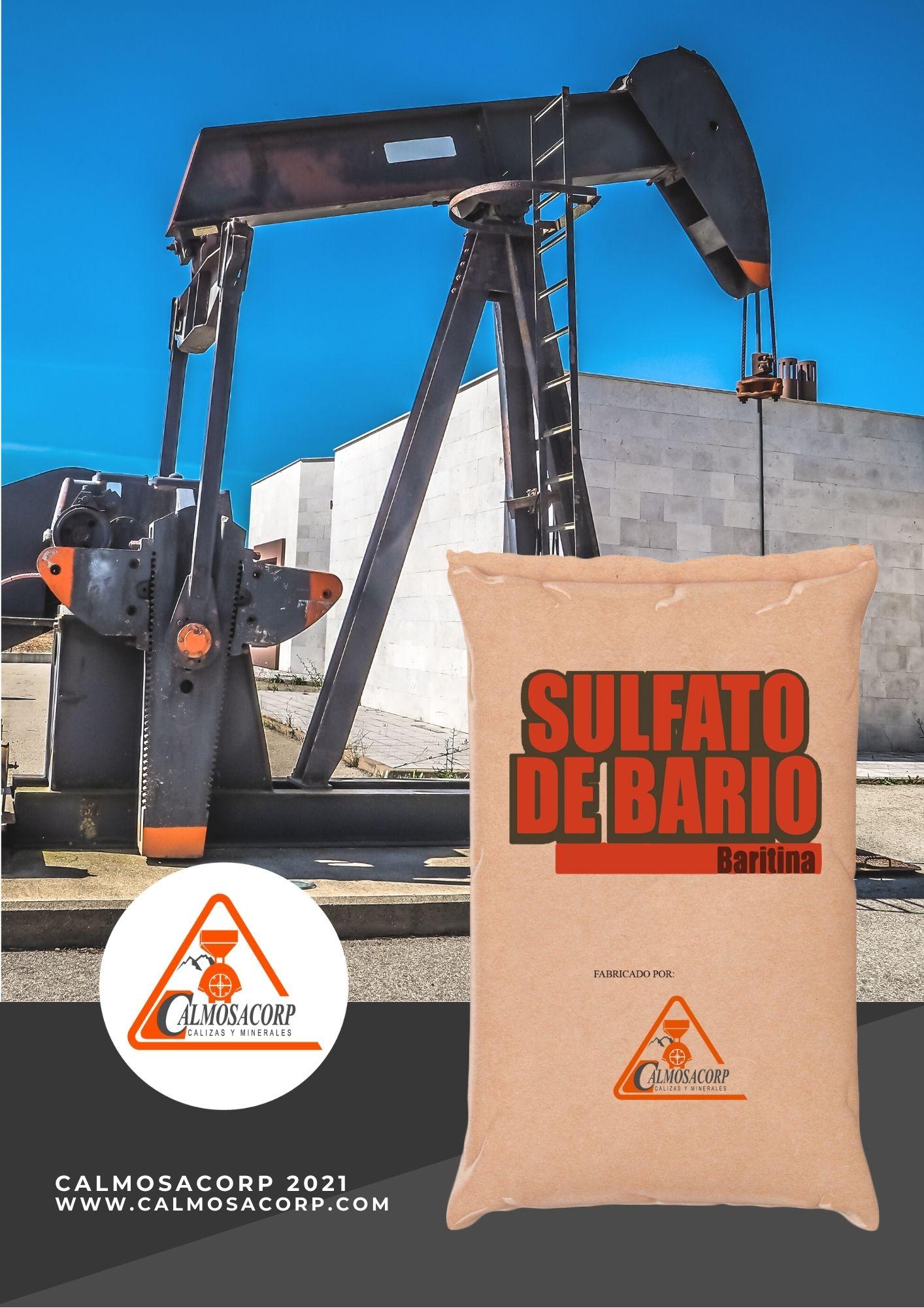 sulfato de bario o baritina guayaquil ecuador